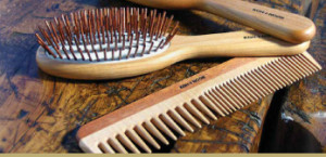 Wooden Brush and comb