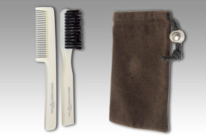 Shaving Brush and Comb