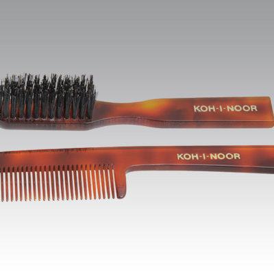 Shaving Brush, Comb