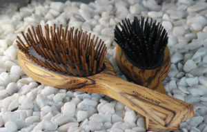 Zebrano Hair Brushes