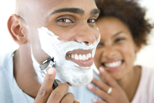 This tip is for both men and women: exfoliate before shaving.